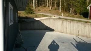 Mur o betongplatta Ucklun