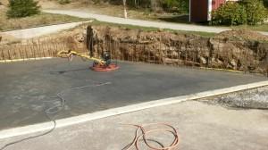 betongplatta Ucklum