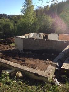 rivning av hus för nybyggnation 1