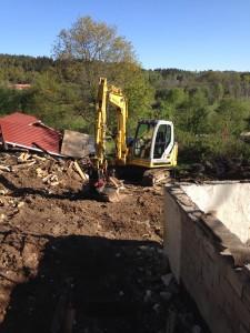 rivning av hus för nybyggnation 2