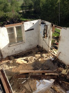 rivning av hus för nybyggnation 4